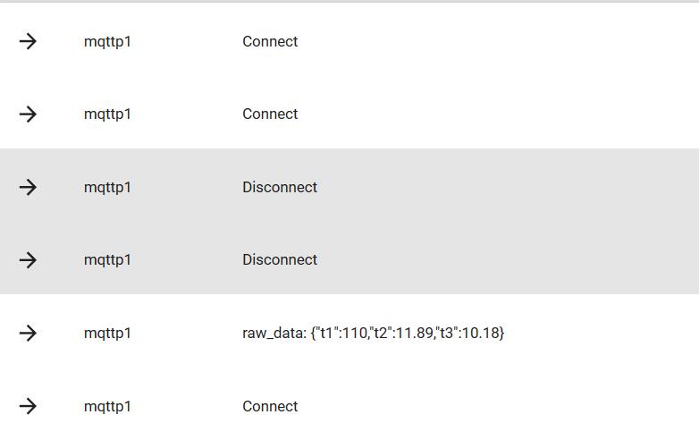 Send multiple sensor readings in one MQTT payload - Murano Platform